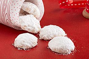 Vanilla Shortbread Poppers