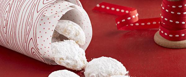 Petites boules sablées à la vanille