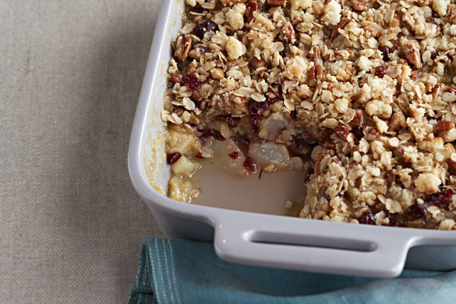 Quick Pear & Cranberry Crisp Image 1