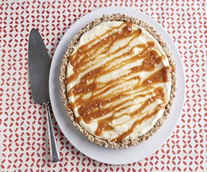 White Chocolate-Salted Caramel Tart