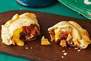 Empanadas con picadillo de carne de res
