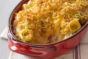 Creamy Potato & Leek Bake