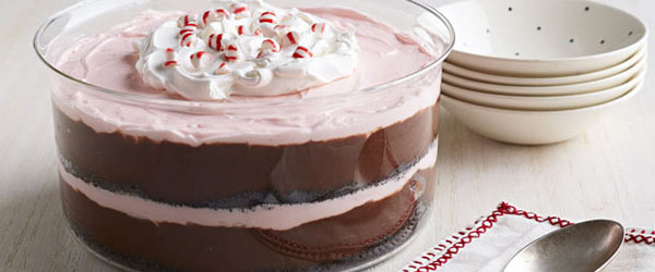 Peppermint-Chocolate Trifle