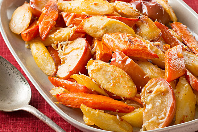 Oven-Roasted Root Vegetables & Apples Image 1