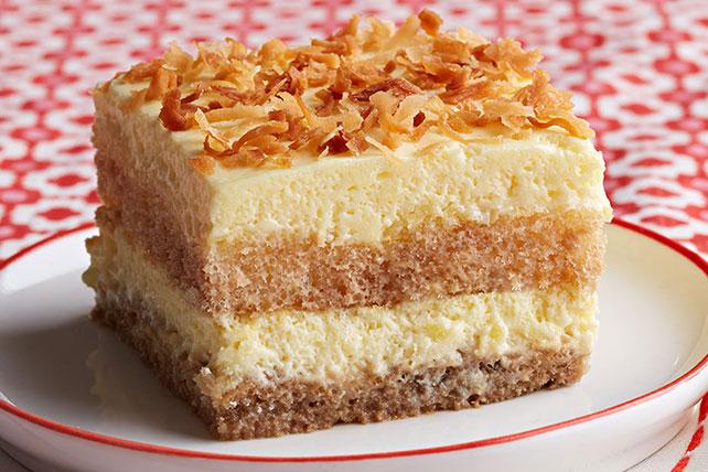 Creamy Coconut Tiramisu Image 1