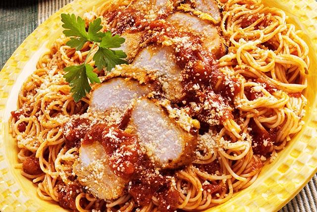 Chicken Parmesan Spaghetti Image 1