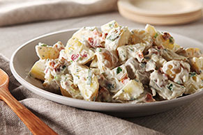 Crispy Bacon Potato Salad