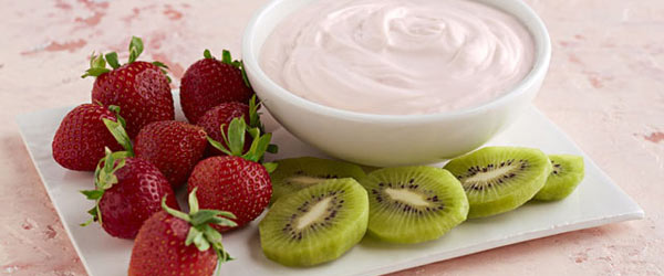 Strawberry-Lemon Fruit Dip