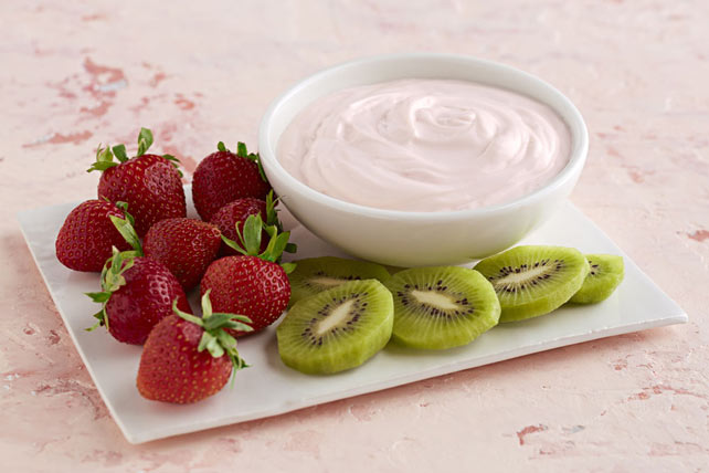 Strawberry-Lemon Fruit Dip Image 1