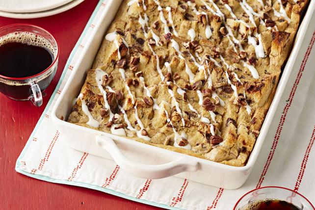 Casserole de «brioches à la cannelle» cuisinée à l'avance Image 1
