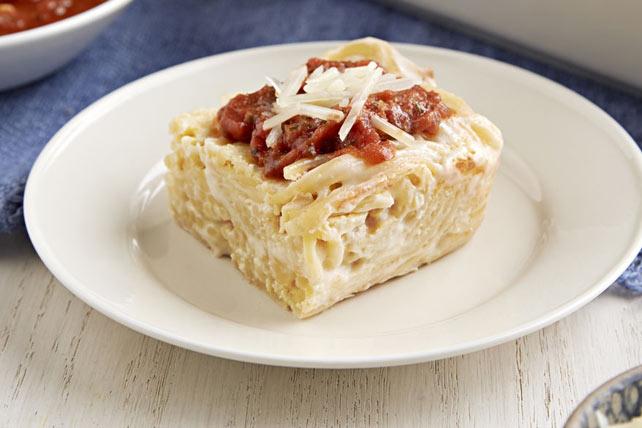 Creamy Baked Spaghetti Casserole Image 1