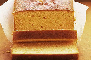 Sweet Orange Pound Cake