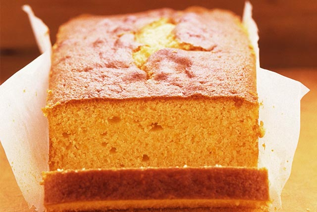 Sweet Orange Pound Cake Image 1