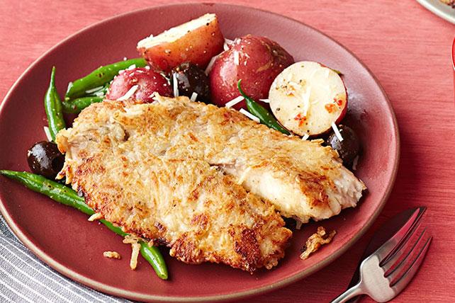 Crispy Bistro Fish Dinner Image 1
