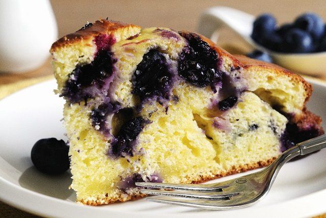 Blueberry-Ricotta Coffee Cake