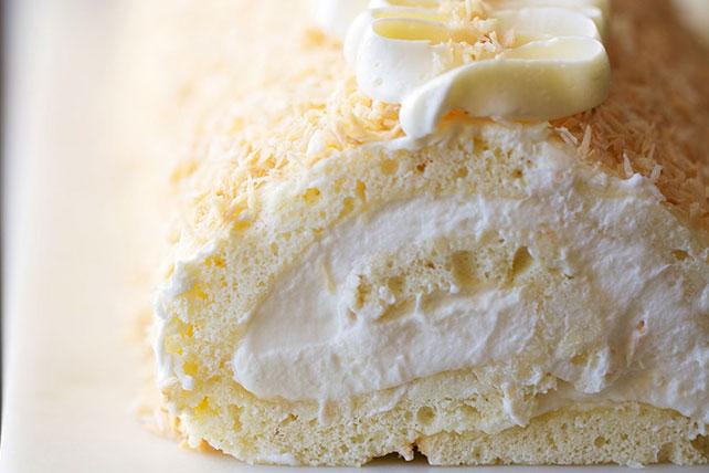 Creamy Coconut Cake Roll Image 1
