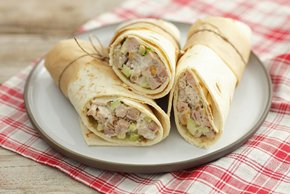 Creamy Chicken Salad Wraps Image 2