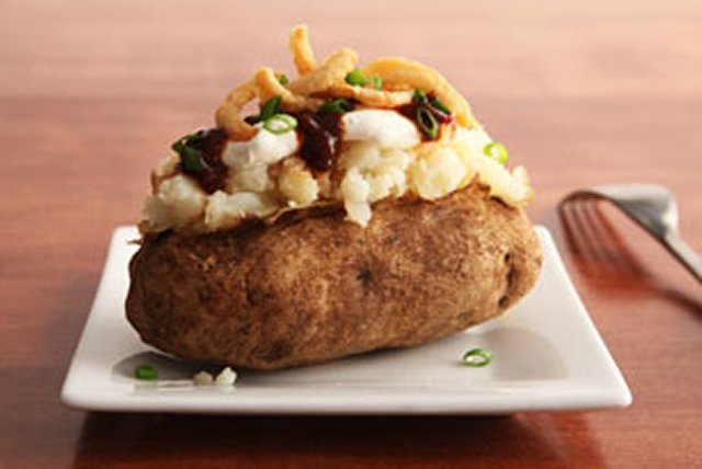 Barbecue Baked Potatoes Image 1