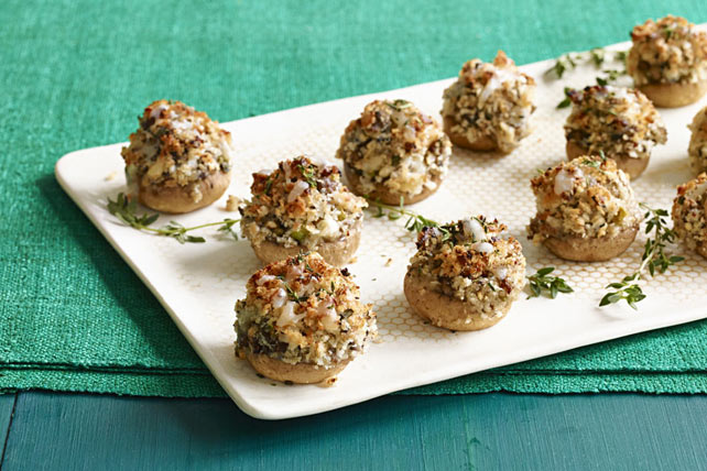 Mushroom Lovers' Stuffed Mushrooms