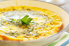 Fresh Vegetable Frittata