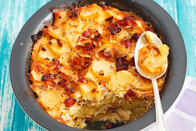 Quicker Potato Gratin with Bacon Image 1