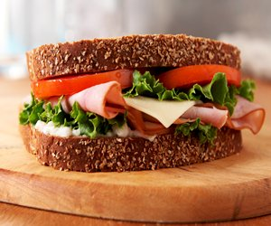 Ham & White Cheddar Sandwich