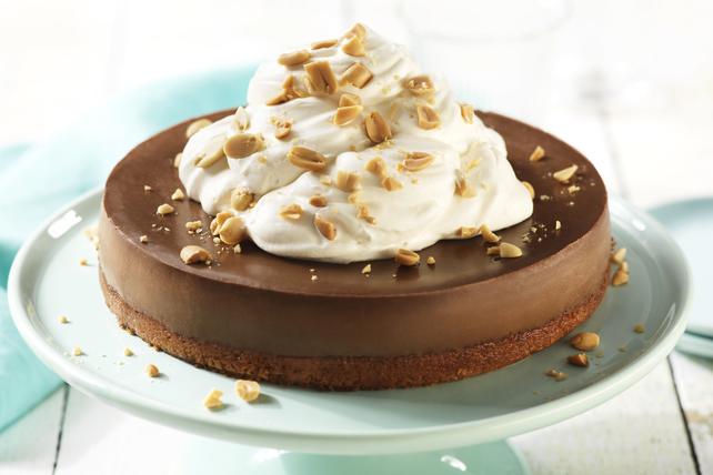 Gâteau au fromage, au beurre d'arachide et au chocolat Image 1