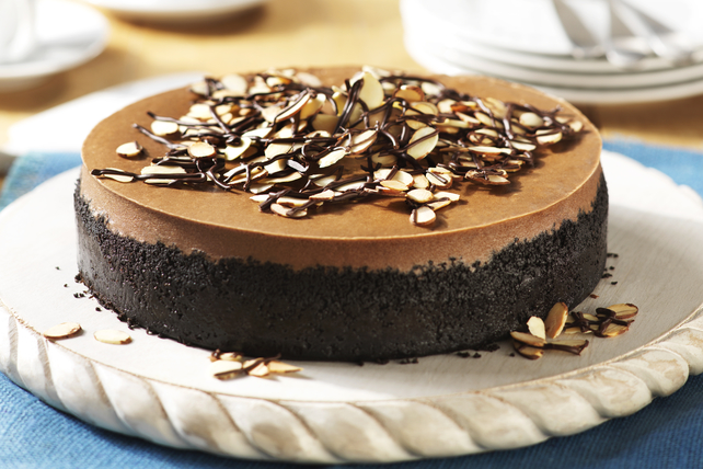Mocha-Almond Cheesecake Image 1