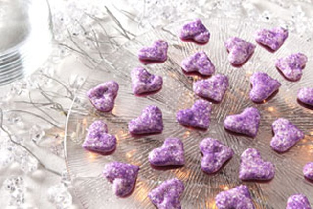 Heart-Shaped Marshmallow Gummies Image 1