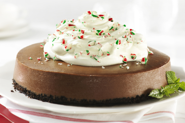 Chocolate-Peppermint Cheesecake Image 1
