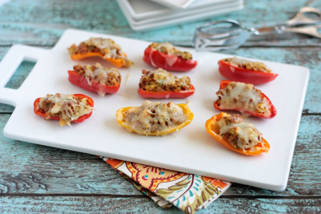 Sausage Stuffed Mini Peppers Image 1