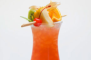 Orange Breeze Fruit Cocktail