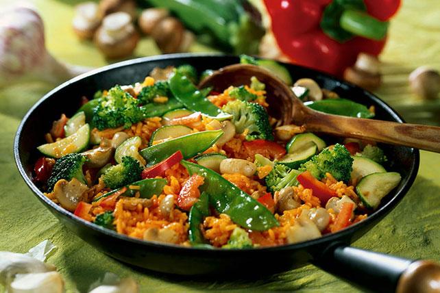 Zucchini-Mushroom Stir-Fry Image 1