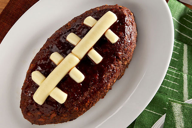 Touchdown Meatloaf - Kraft Recipes