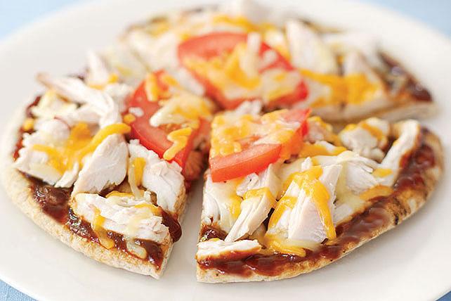 Sándwich pita de pavo con salsa BBQ Image 1