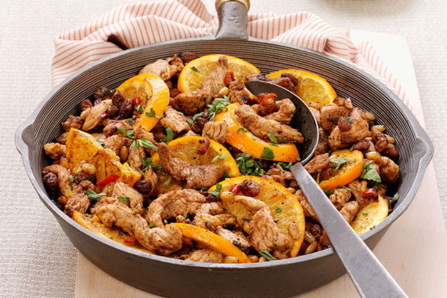 Moroccan-Style Turkey Skillet Image 1