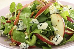 Salad Greens with Apples, Blue Cheese and Sugared Nuts Image 2