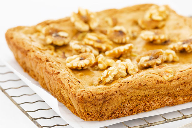 Maple Blondies