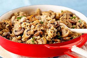 Parmesan-Mushroom Risotto