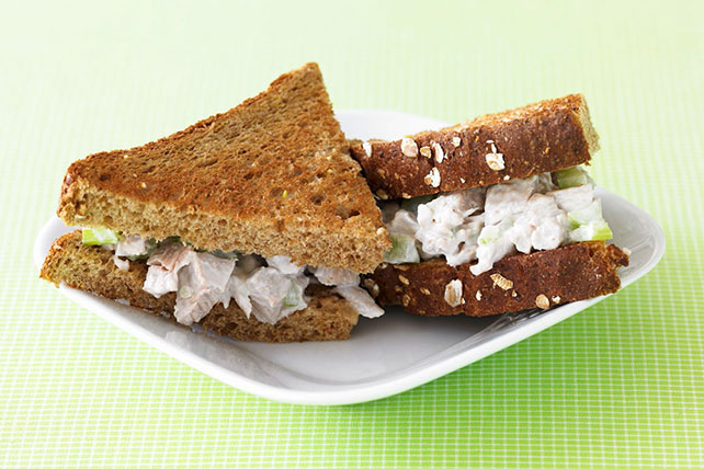 Creamy Chicken Salad Sandwich Image 1