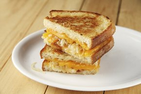 Grilled Cheese and Onion Sandwiches Image 2