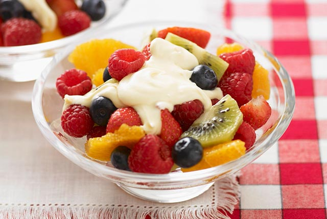Fruit Salad with Creamy Sauce Image 1