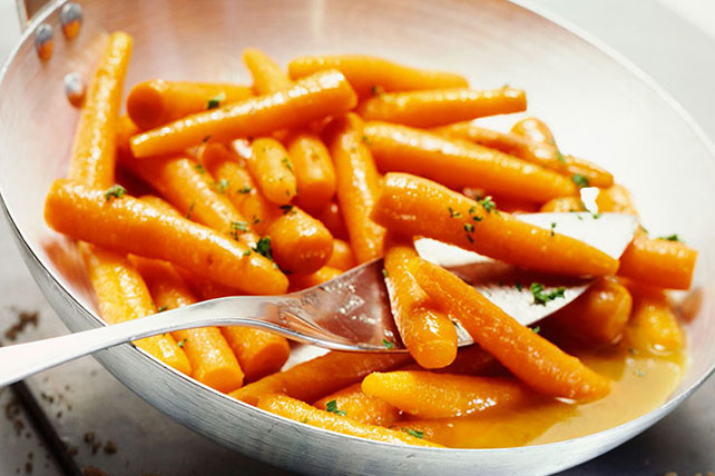 Honey-Orange Glazed Carrots Image 1
