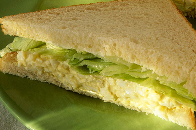 Down-Home Egg Salad Sandwiches