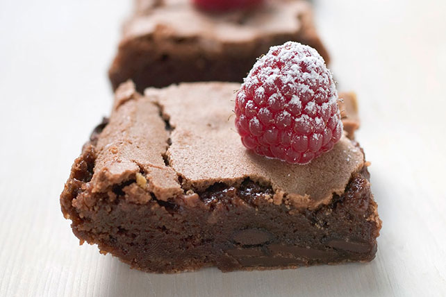 Raspberry-Latte Brownies Image 1