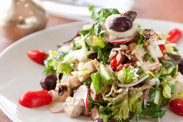 Classic Greek Chicken Salad Image 1