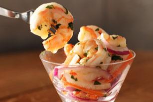 «Ceviche» de crevettes éclair Image 1