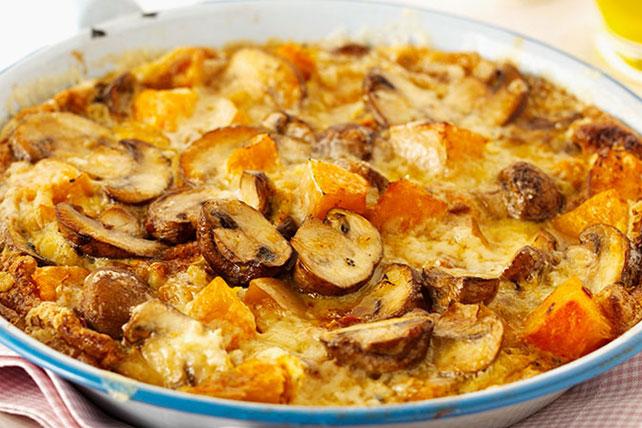 Mushroom and Sweet Potato Frittata Image 1