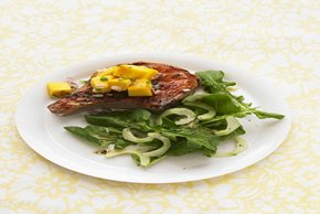 Barbecue Pork Chops with Mango Salsa Image 2