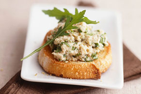 Chicken Salad on Crostini